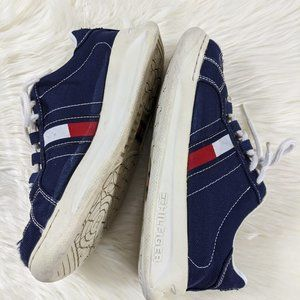 Vintage 1990 Tommy Hilfiger Large Flags Sneakers